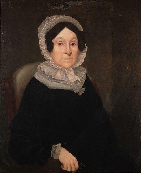 Portrait of Rebecca Greenleaf Webster