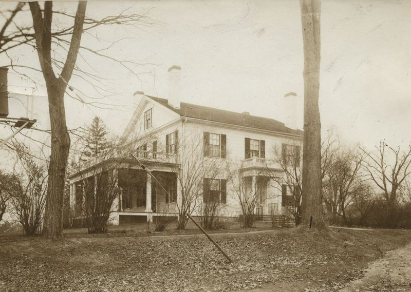 Eugene Field and Mary Heaton Vorse's House during the mid-to-late 1800s