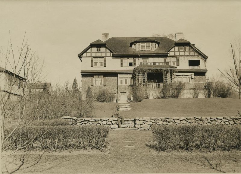 Ray Stannard Baker's house during the early 1900s